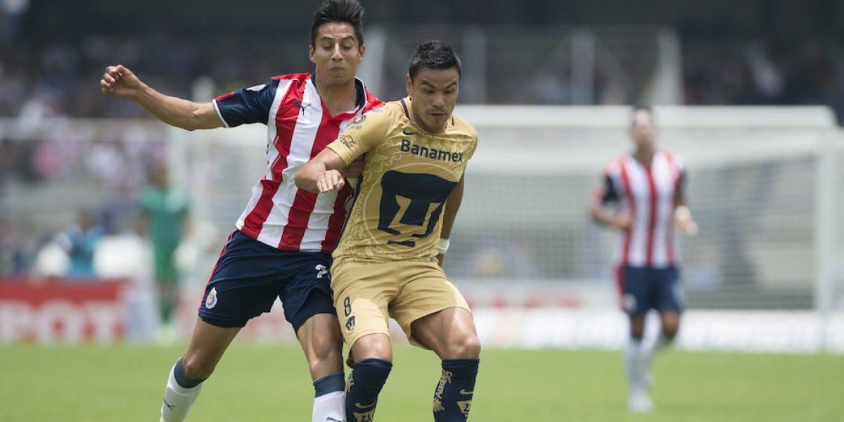 ¿A qué hora juega Chivas vs Pumas, jornada 1 del Clausura 2017?