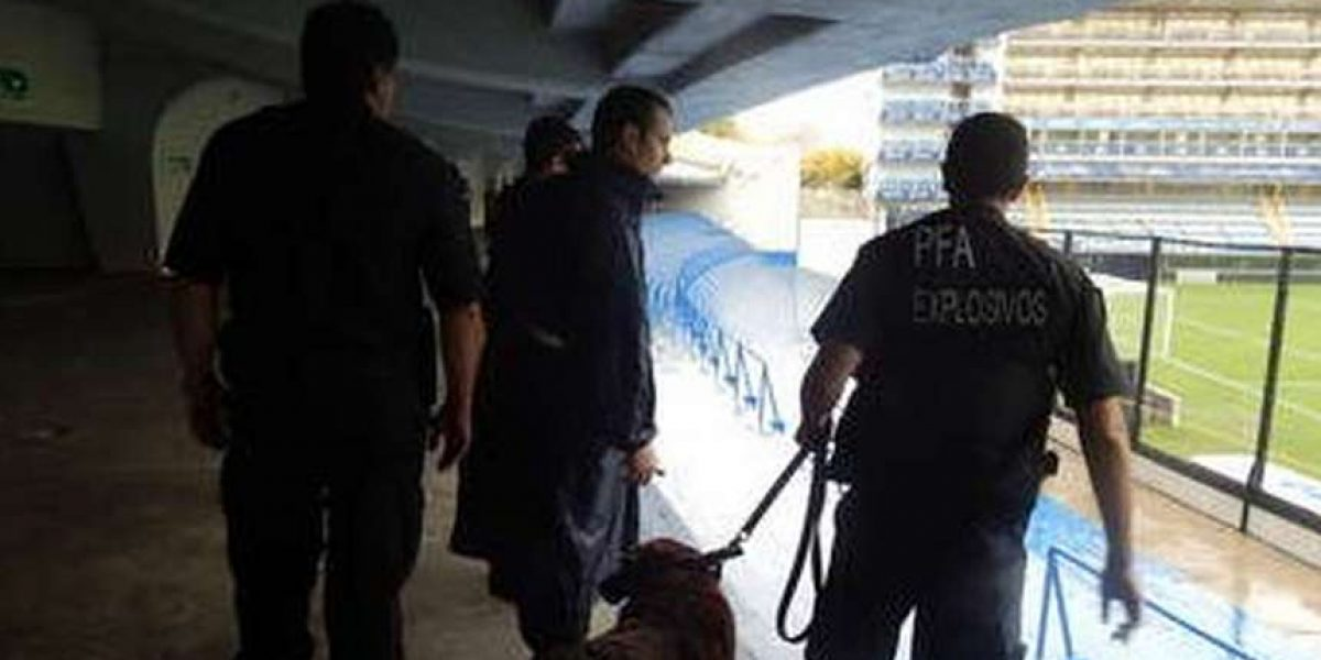 Desalojan el Monumental y la 'Bombonera' por amenaza de bomba