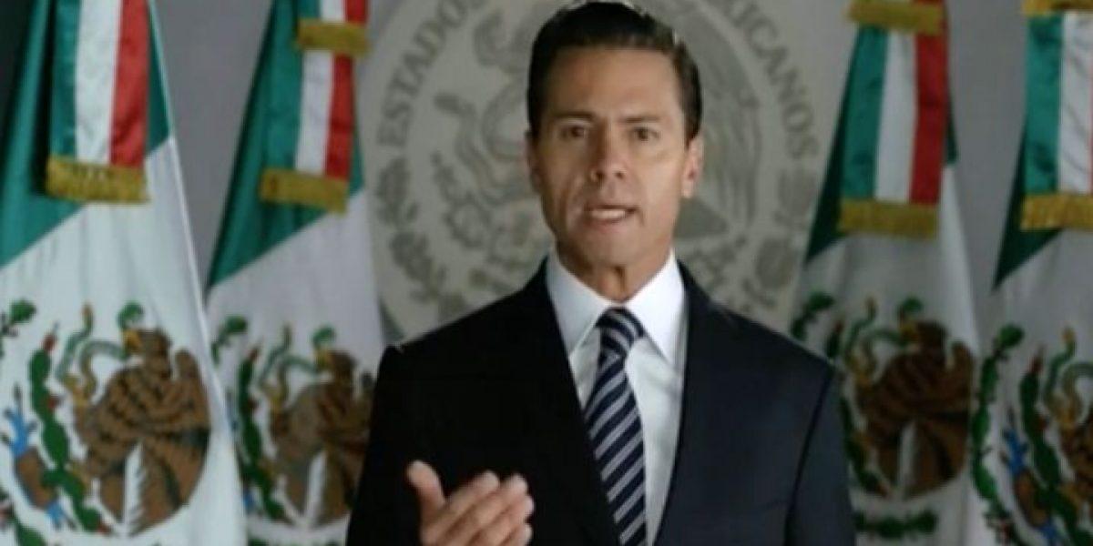 Peña Nieto asegura que no dará marcha atrás al