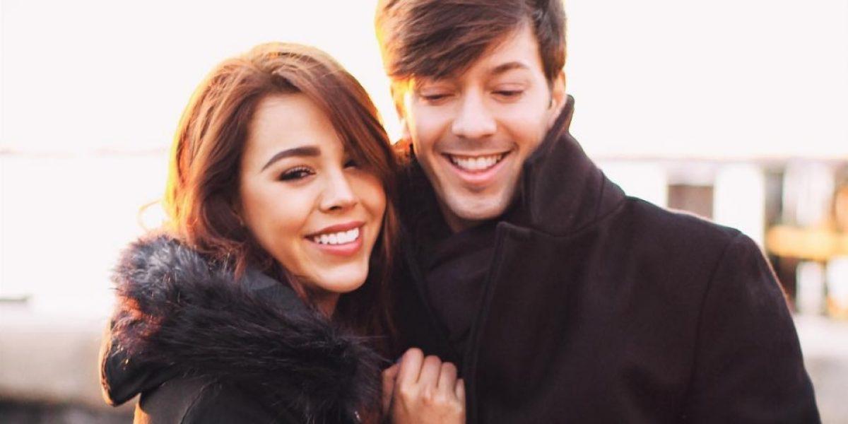 Roger González y Danna Paola se besan, se declaran su amor, pero no son novios