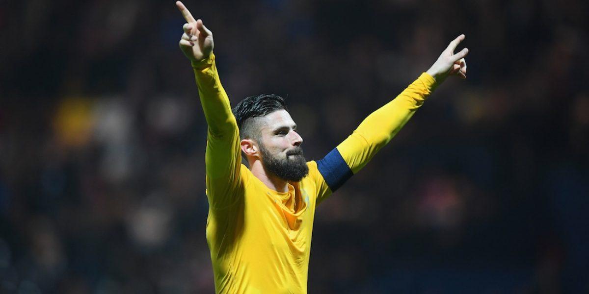 Arsenal vence a Preston y avanza en la Copa de Inglaterra