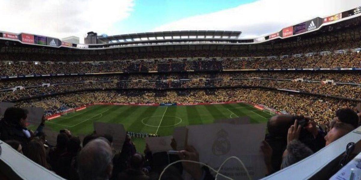 VIDEO: El Bernabéu se rinde ante Cristiano Ronaldo