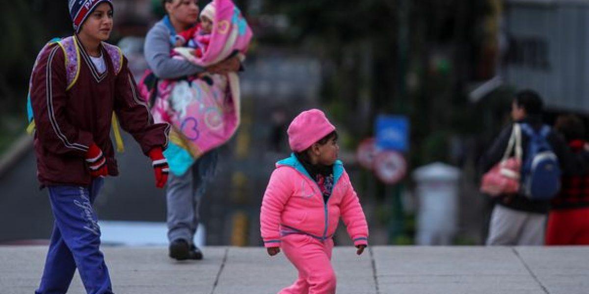 Frente frío 21 mantiene temperaturas bajas en México