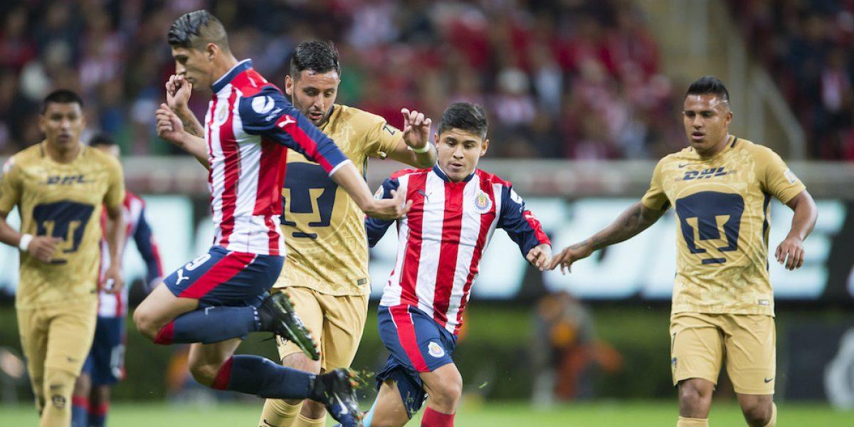 EN VIVO: Chivas recibe a Pumas en la jornada 1 del Clausura 2017