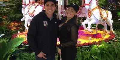 Gomita y su novio Alberto González. Imagen Por: Instagram