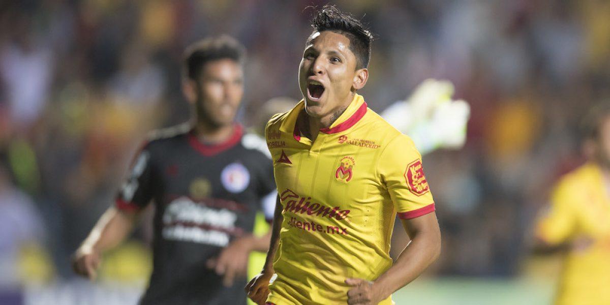Morelia se impone a Tijuana y enciende la lucha por el no descenso