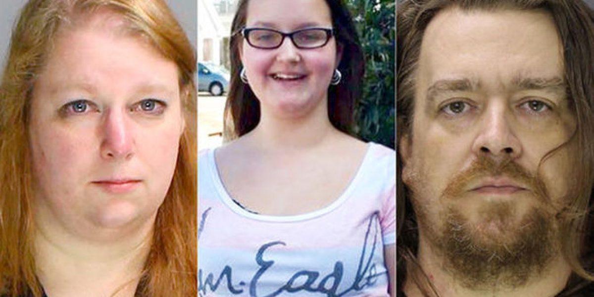 Acusan a pareja de asesinar y desmembrar a su hija en EU