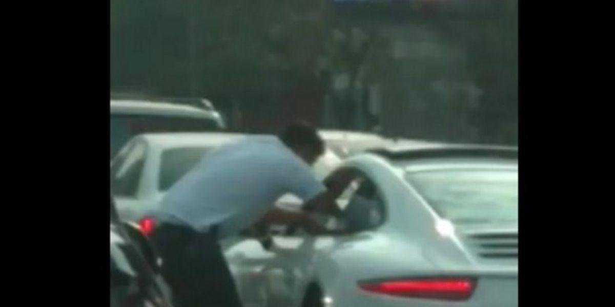 VIDEO: Graban presunto asalto en Miguel Hidalgo