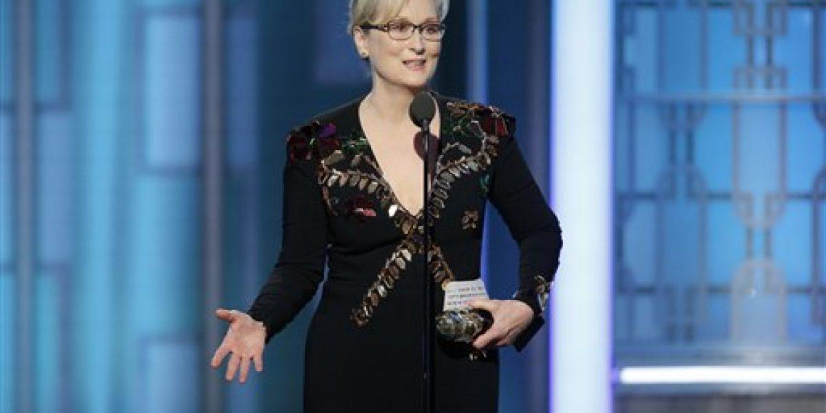 El discurso de Meryl Streep que provocó a Trump en los Globos de Oro