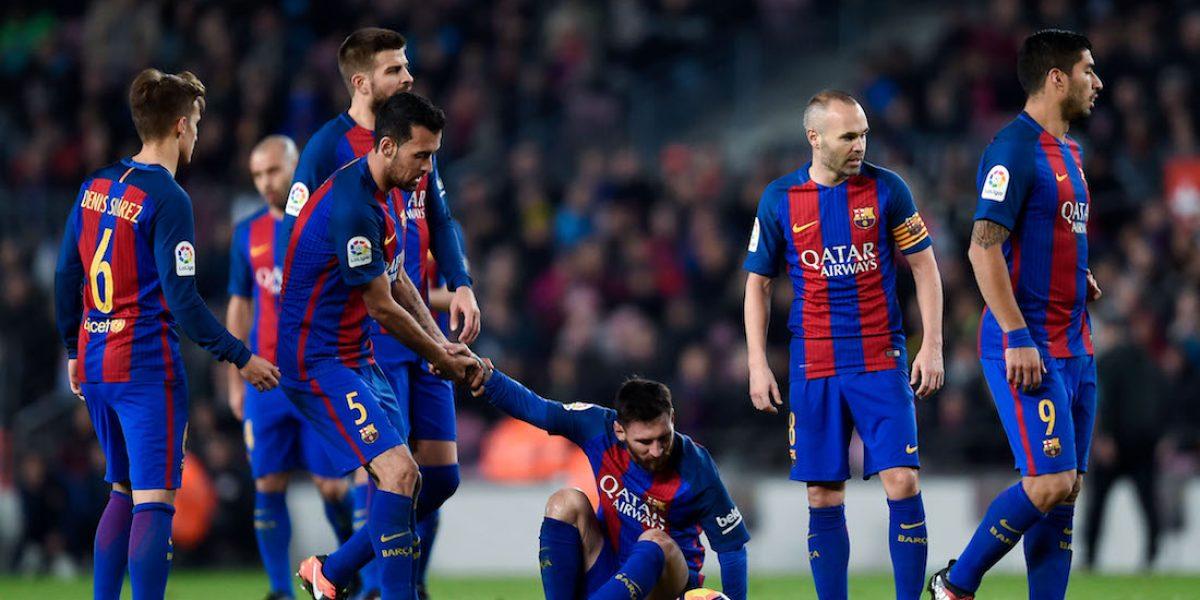 Jugadores del Barcelona no viajaron a la ceremonia de la FIFA