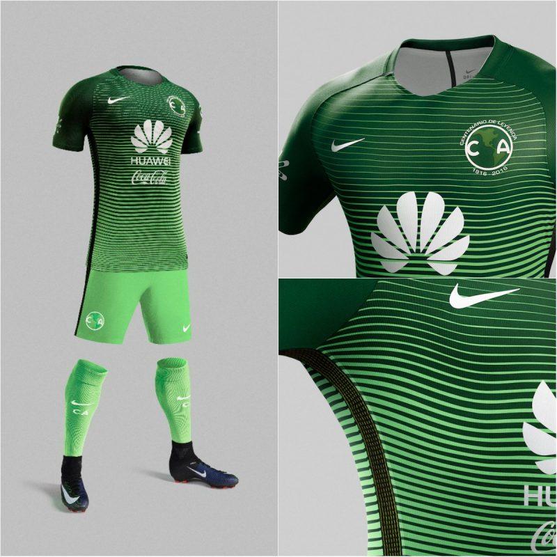 Am rica revela su tercer uniforme para el clausura 2017 for Cuarto uniforme del club america