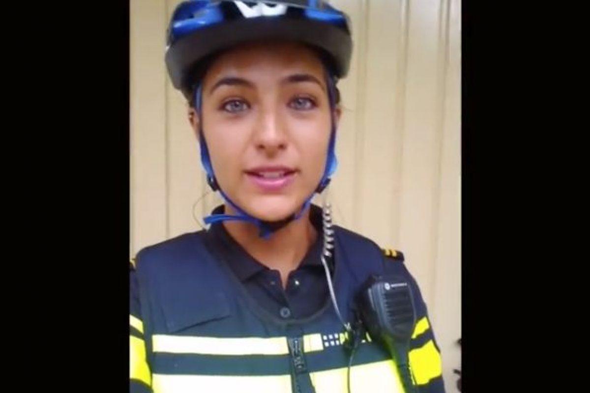 Nochtli Peralta, policía mexico-holandesa. Imagen Por: Fotos: Facebook Nochtli Peralta Álvarez