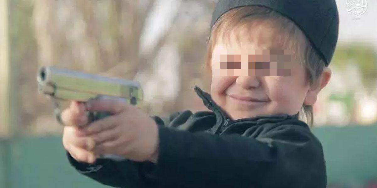 Estado Islámico obliga a niños a cometer asesinatos en Siria