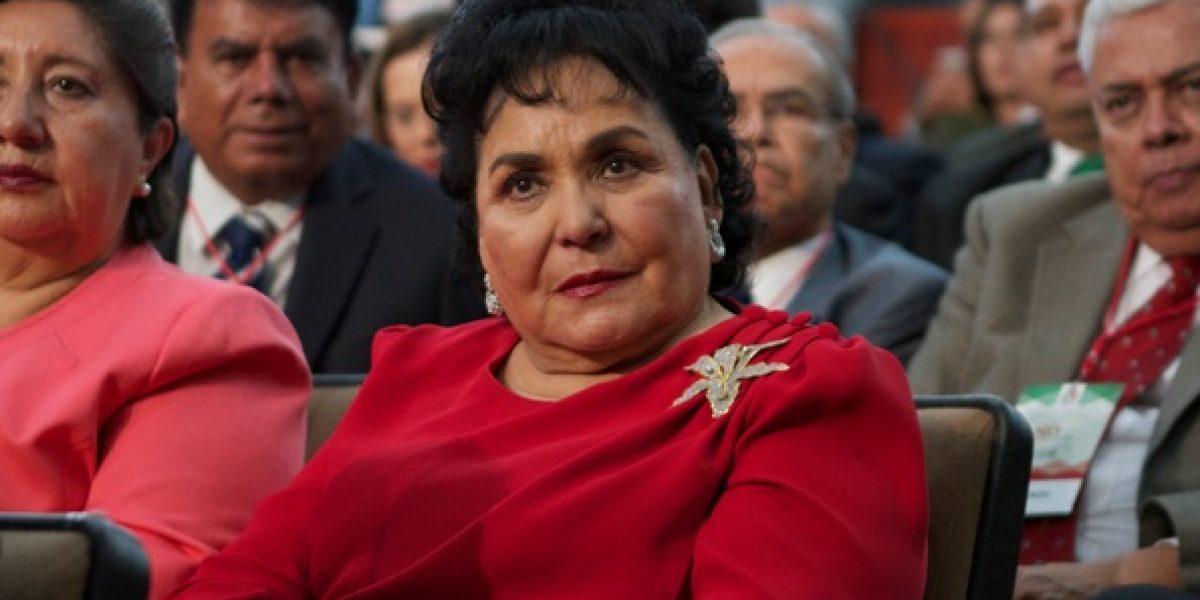 El que tenga coche, que lo mantenga: Carmen Salinas ante gasolinazo
