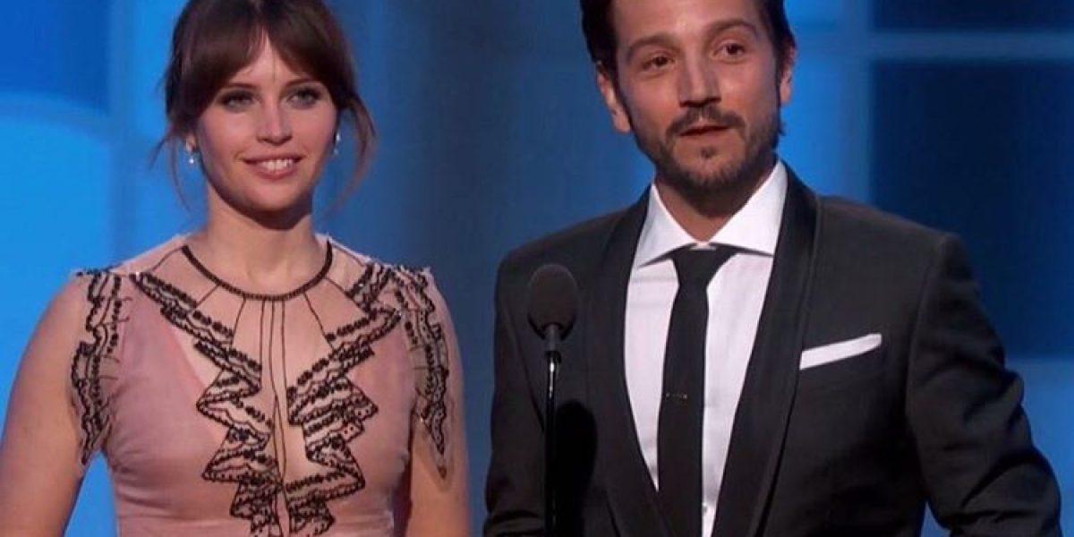 GOLDEN GLOBES: Diego Luna presentó su categoría en español