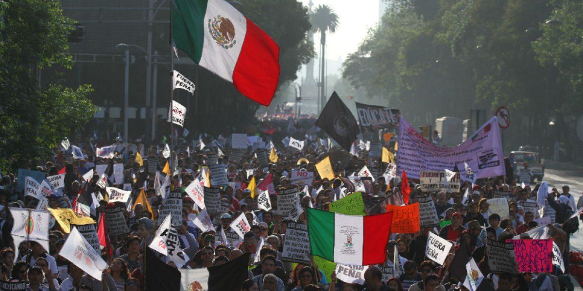 Miles protestan contra el