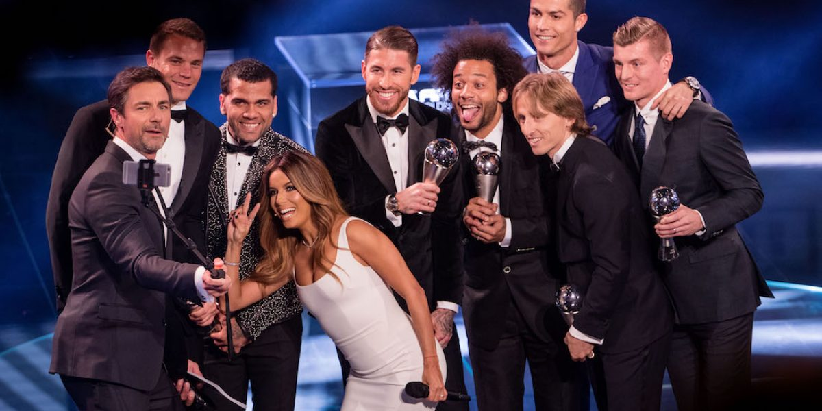 """Los galardonados del premio """"The Best"""" de la FIFA"""