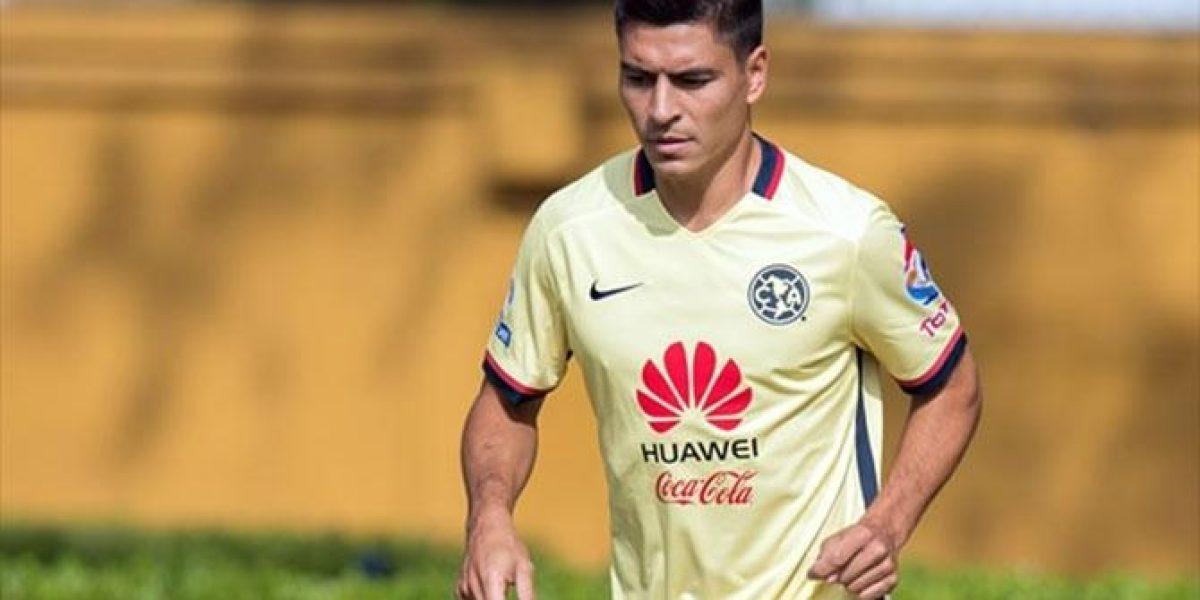 Paolo Goltz abandona entrenamiento con el América ¿lesión?