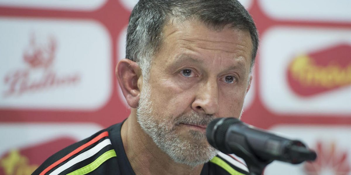 Juan Carlos Osorio presentó el primer amistoso del Tri en el año