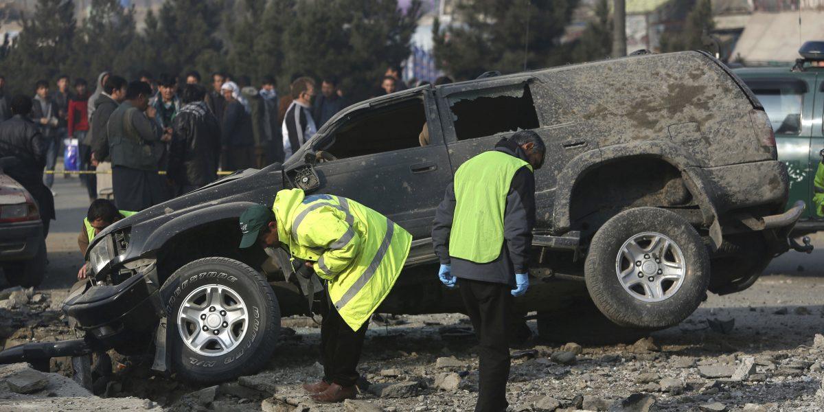 Al menos 24 muertos en doble atentado en el Parlamento de Afganistán