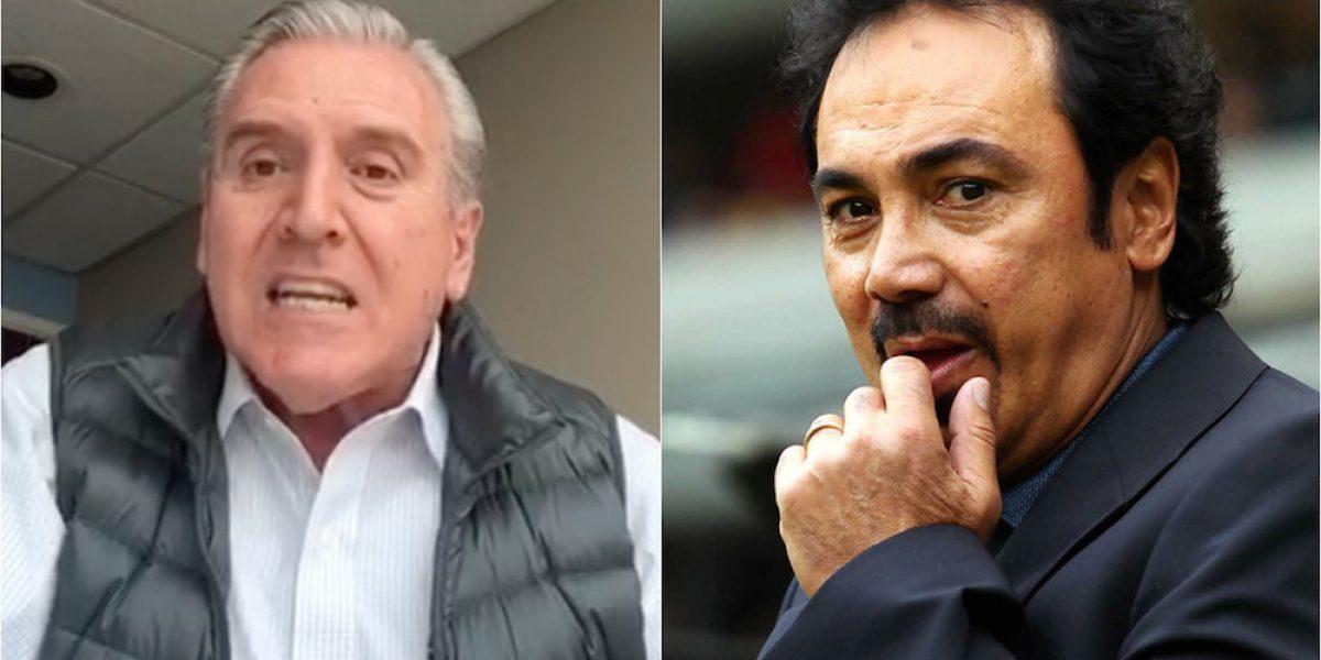 """VIDEO: Carlos Albert critica duramente a Hugo Sánchez y hasta lo llama """"pendejo"""""""