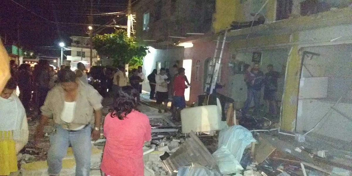 Al menos una persona herida por explosión de gas en Tabasco