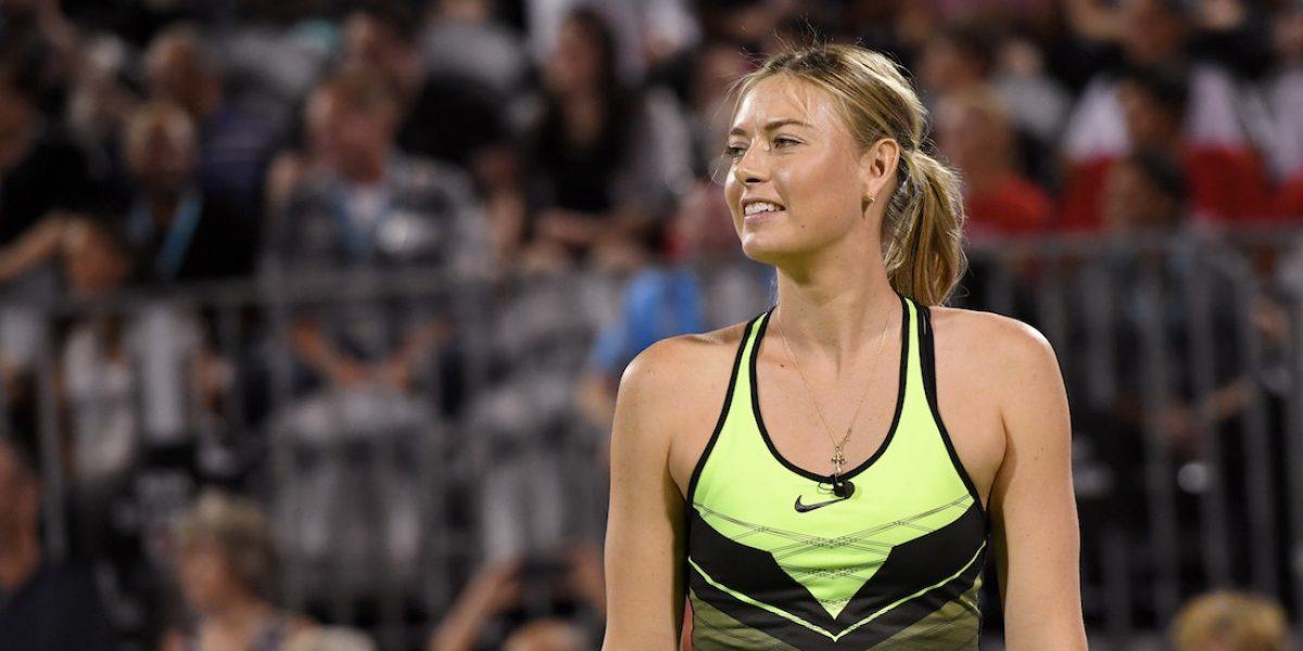 Maria Sharapova ya tiene fecha para volver a jugar tenis