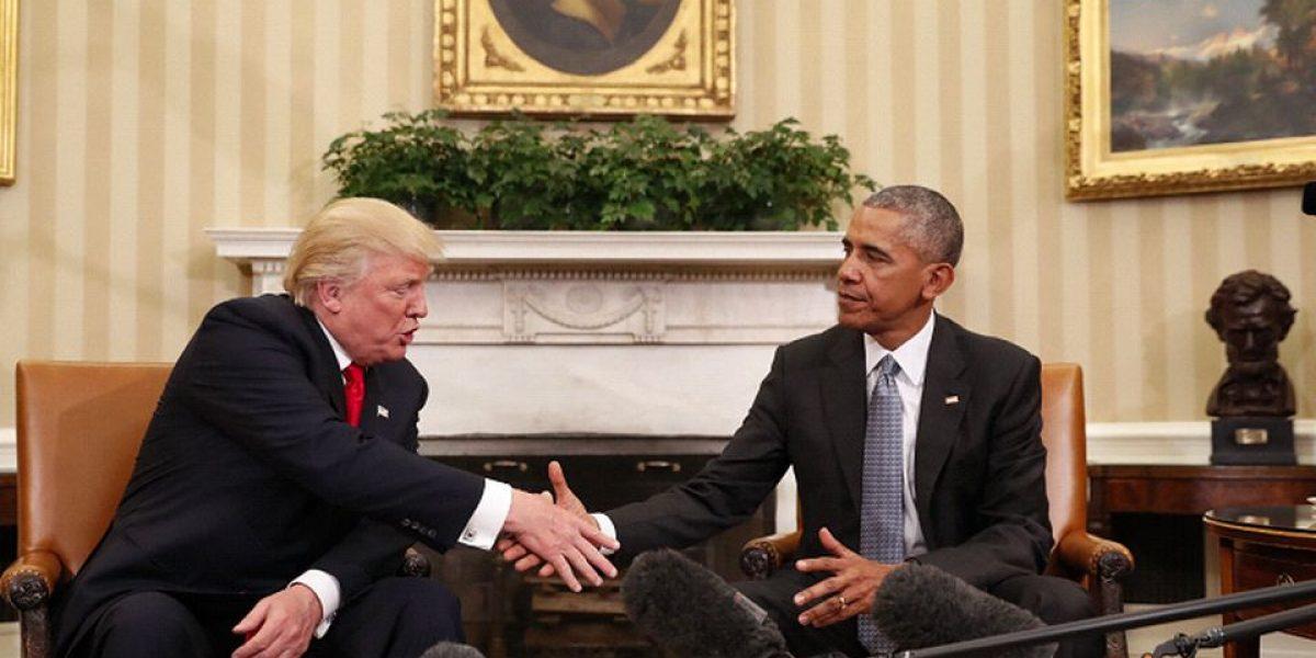 Obama y Trump se reunirán para