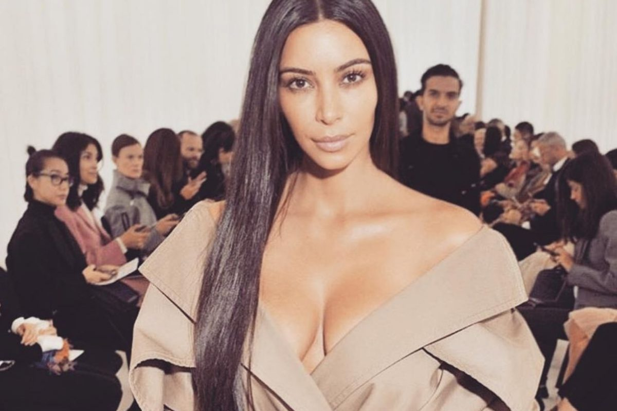 Kim Kardashian. Imagen Por: Instagram