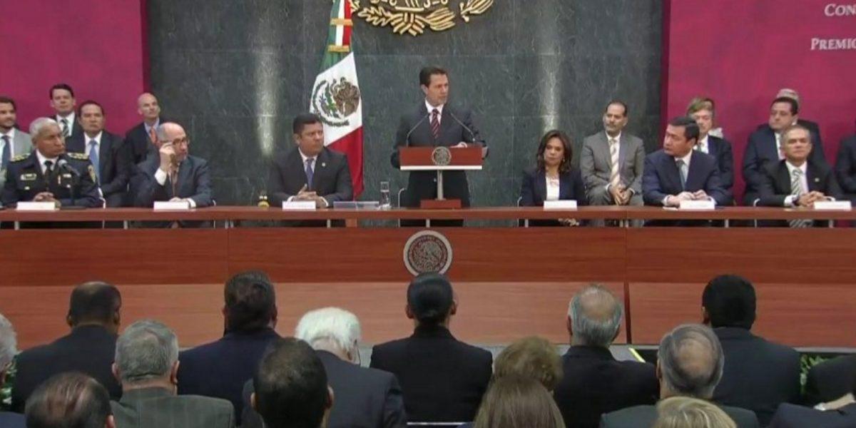México entre los mejores en materia de Protección Civil, asegura Peña Nieto
