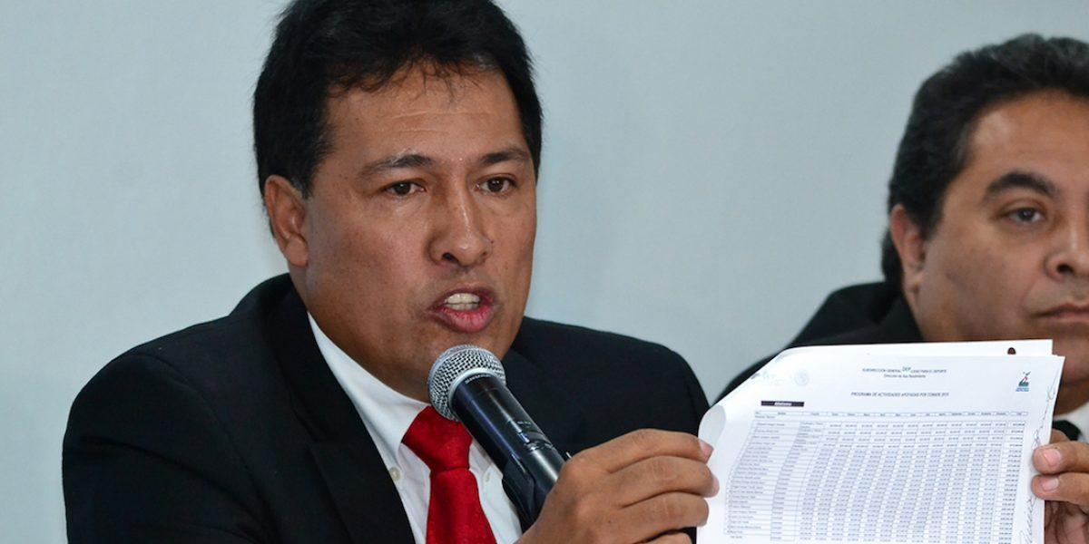 Presidente de la Federación Mexicana de Atletismo abandonó la cárcel