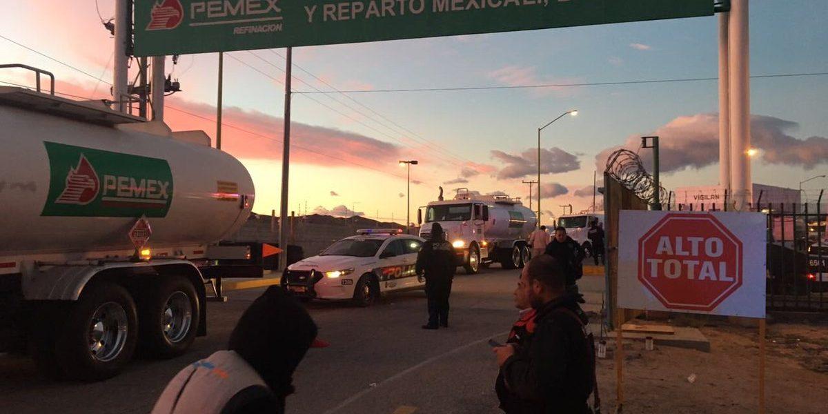 Pemex confirma liberación de su terminal en Mexicali