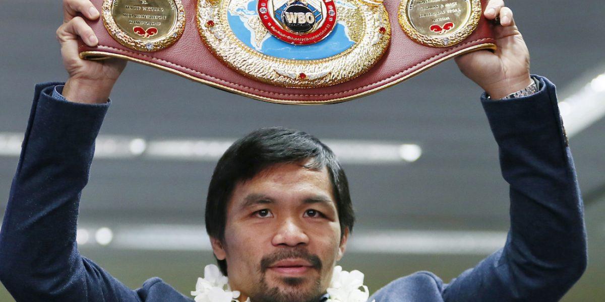 Manny Pacquiao volverá a pelear en abril