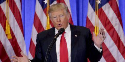 7 puntos clave de la primera conferencia de prensa de Donald Trump
