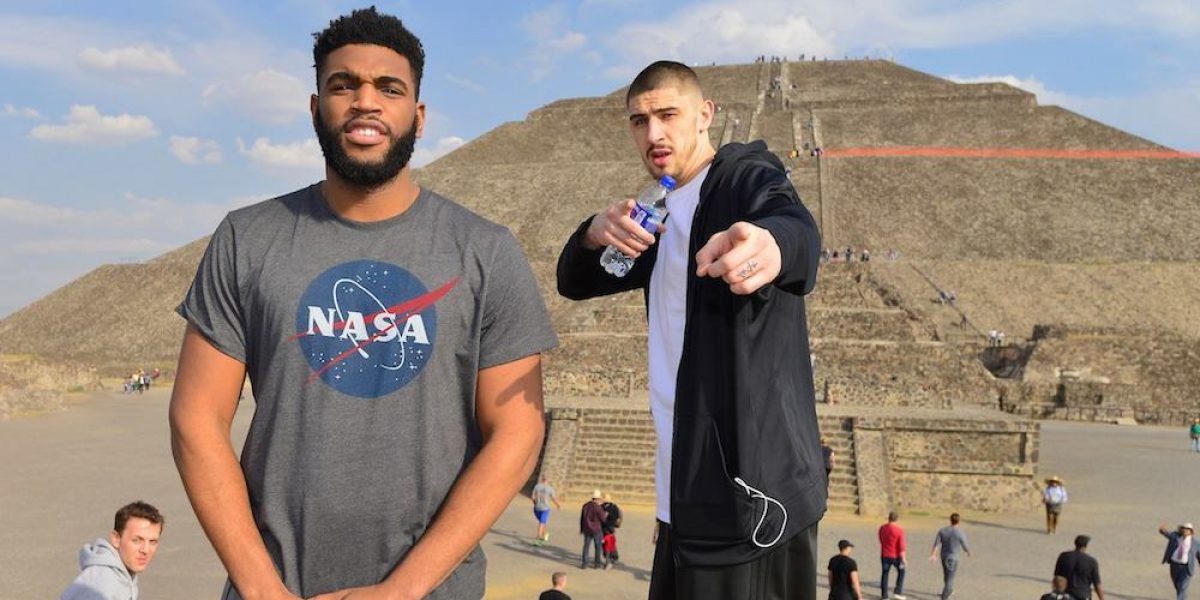 Jugadores de Suns visitaron las Pirámides de Teotihuacán previo a su primer partido en México