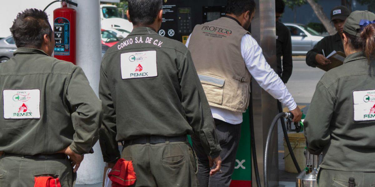 Profeco detecta irregularidades en 32 gasolineras del país