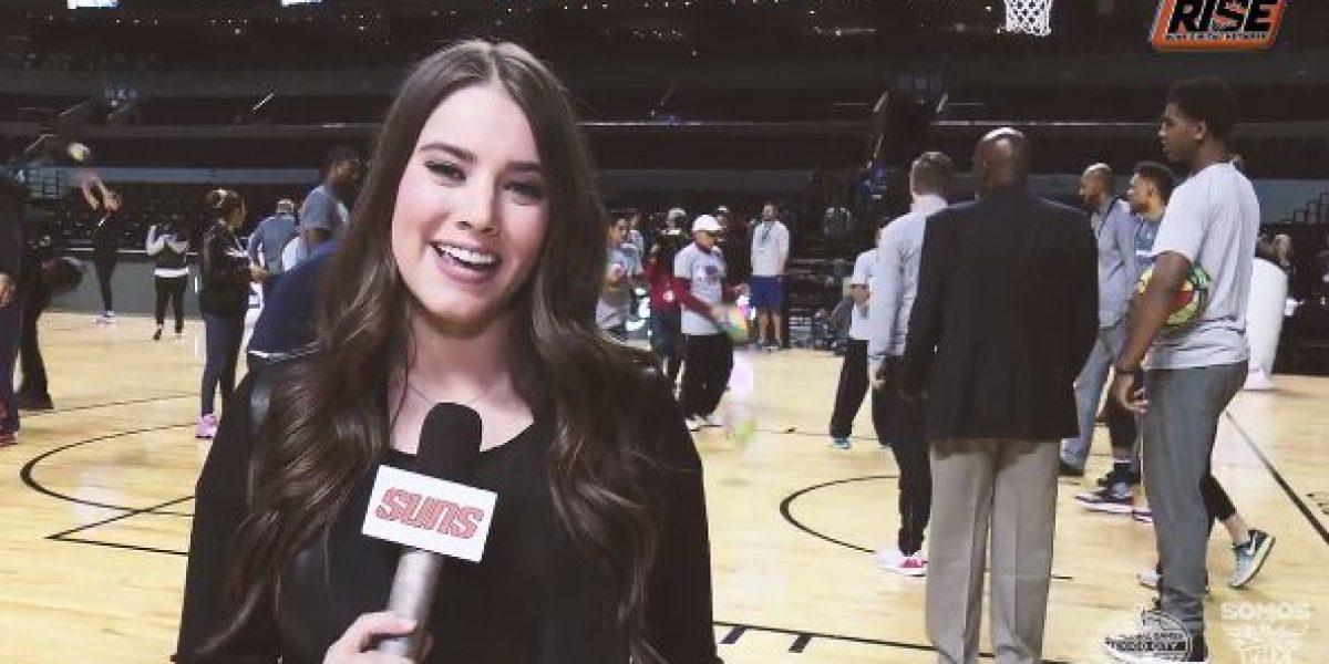 Reportera de los Suns de Phoenix