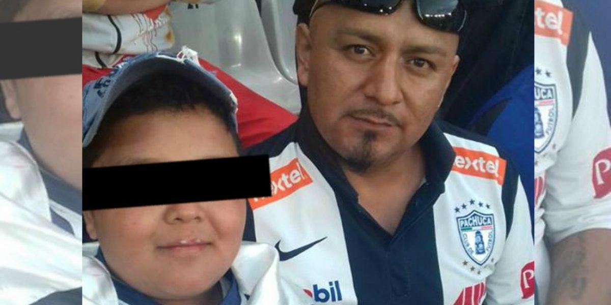 Aficionado tatuó a su hijo de 12 años el escudo del Pachuca