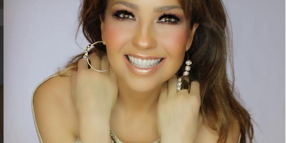 Foto muestra lo enferma que está Thalía