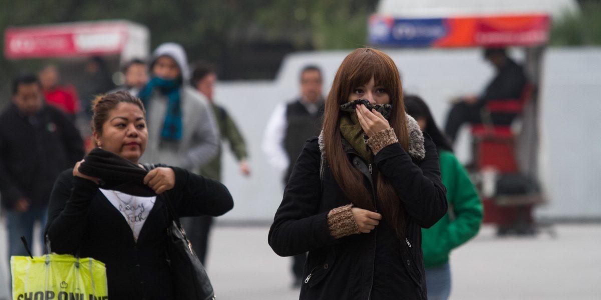 Frente frío número 25 ocasionará tormentas fuertes en el norte del país