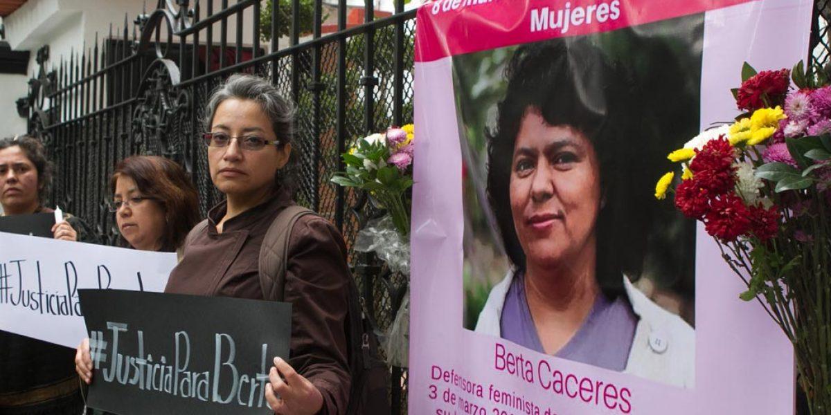 Detienen a presunto homicida de la activista Berta Cáceres en Reynosa
