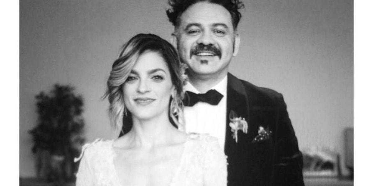 Irene Azuela y Enrique Rangel de Café Tacvba se casaron