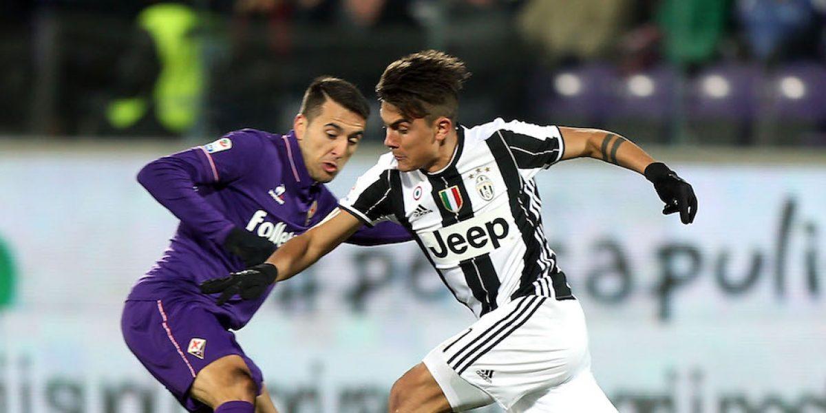 Fiorentina vence a Juventus sin Carlos Salcedo