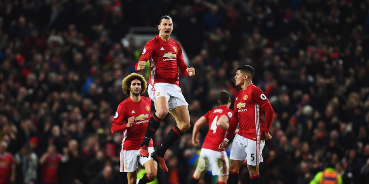 Zlatan salva al United, el City de Guardiola es goleado