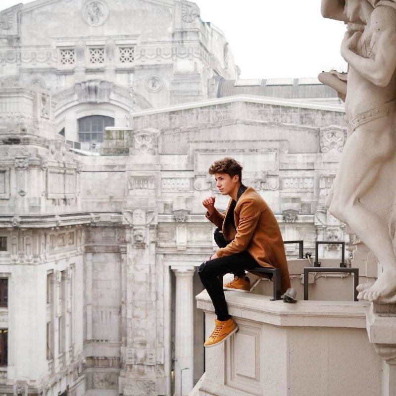 Juanpa Zurita. Imagen Por: Juanpa Zurita participa en el desfile de Dolce & Gabbana. | Instagram