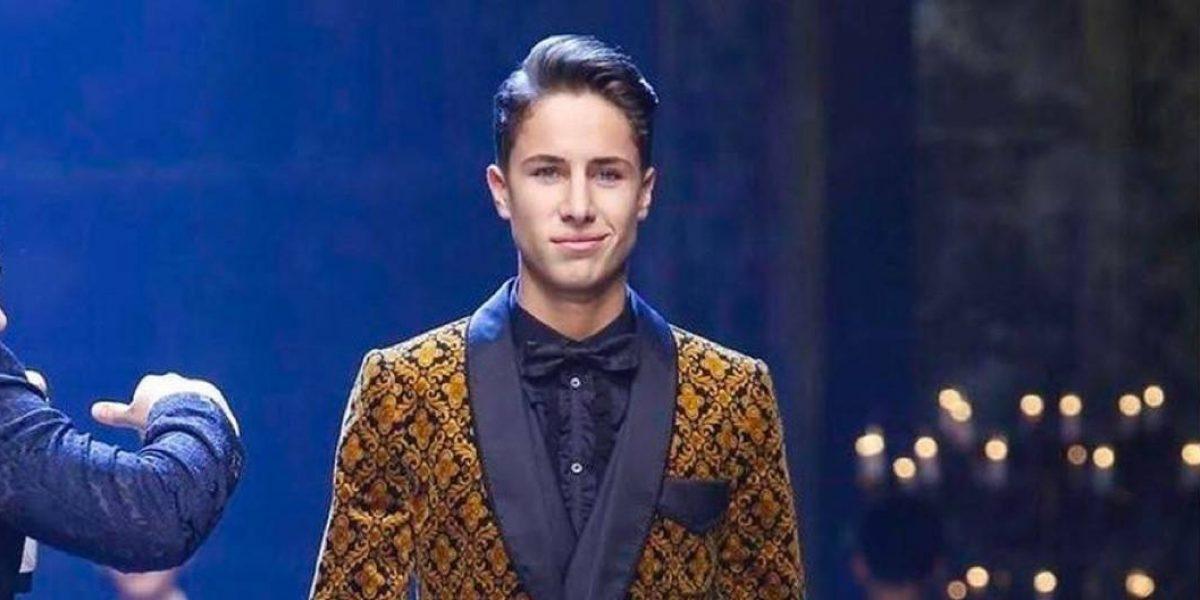 Juanpa Zurita salta de YouTube a la pasarela de Dolce Gabbana