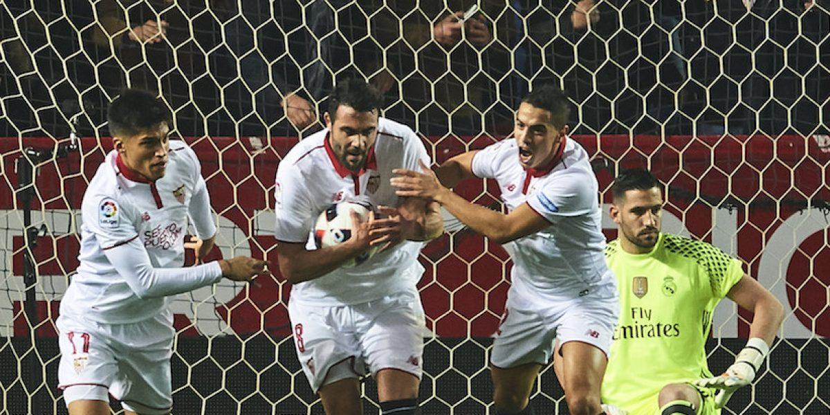Sevilla pone fin a la racha de 40 juegos invicto del Real Madrid