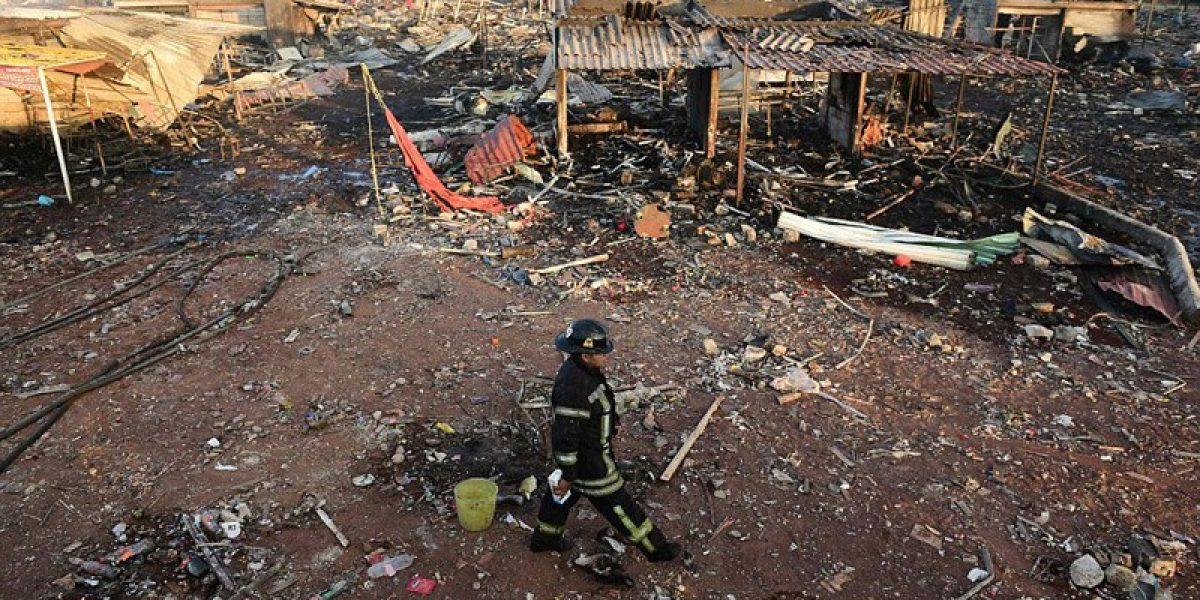 Reportan un muerto más por explosión en Tultepec; suman 40 decesos