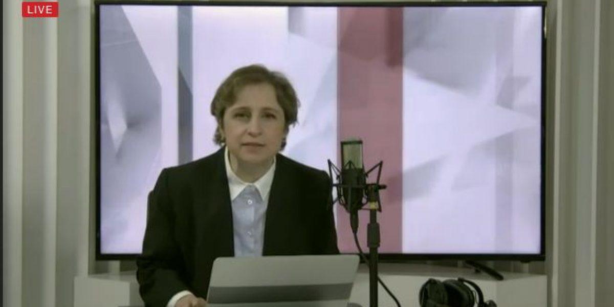 Así fue el regreso de Carmen Aristegui con programa matutino en vivo