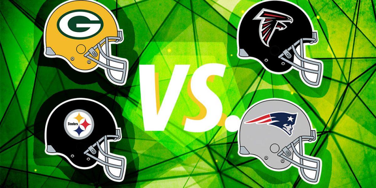 Definidos los duelos de las finales de conferencia de la NFL